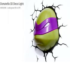 ORIGINAL - 3D Deco Light Donatello Ninja Turtle TMNT Original