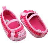 Ormano Sepatu Bayi Prewalker Elaine Flower Baby Pink Diskon Akhir Tahun