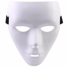 Ormano Topeng Jabbawockeez White Mask Action - Putih