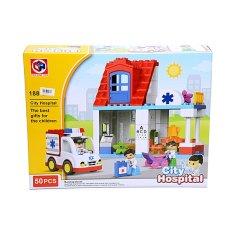 OTOYS City Hospital Mainan Balok Lego RS 50 PCS - PA-G255827-188-123