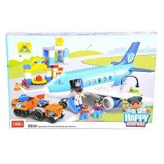 OTOYS Happy Airport Mainan Balok Lego 69 PCS - PA-E630031-HG-1273