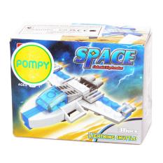 OTOYS Jie Star Space Celestial 36 PCS Balok Lego Lightning Shuttle - PA-26003