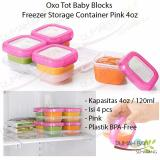 Spesifikasi Oxo Tot Baby Blocks Freezer Storage Containers 4Oz Yang Bagus