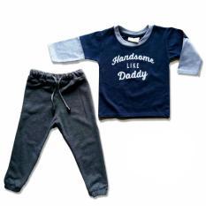 Toko Jual Ozuka Setelan Anak Handsome Daddy Biru