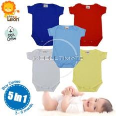 Jual Baby Leon Baju Bayi Jumsuit 5Pcs Bc 01 Seri Cowok Newborn 100 Katun Pakaian Bayi Baju Bayi Laki Laki Baju Bayi Perempuan Perlengkapan Bayi Jumper Baju Set Bayi Newborn Kaos Bayi Branded Murah