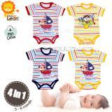 Pusat Jual Beli Pakaian Bayi Motif Unisex 4In 1 Jumsuit 100 Cotton Lembut Dingin Baju Bayi Kaos Bayijumper Bodysuits Bc 01 Motif Random Jawa Timur