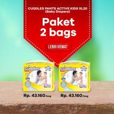 Toko Jual Paket 2 Popok Cuddles Diapers Pull Up Pants Xl20 Better Than Sweety Mamy Poko