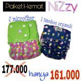Beli Paket Hemat Clodi Diapers Modern Nizzy Ningrat Bamboo Dan Izzy Murah Di Jawa Tengah