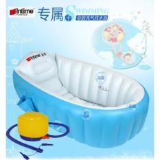 Paket Intime Baby Bath Tub / Bak Mandi Bayi + BONUS POMPA-LAZPEDIA