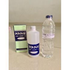 Paket Povinal Slime Cair Clear Slime Bening Mainan Anak Set Clear Glue - Gu0z1g