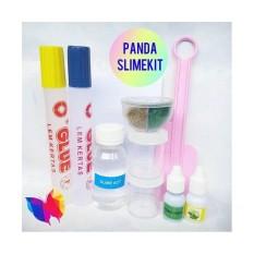 Paket Slime Kit-Murah Clear Slime Kit-Glitter Slime Kit