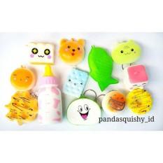 Paket Squishy 12 Pcs/ Paket Squishy Lusinan