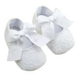 Spesifikasi Palight Bayi Perempuan Ikatan Simpul Pita Katun Lembut Bagian Bawah Sepatu Beserta Harganya