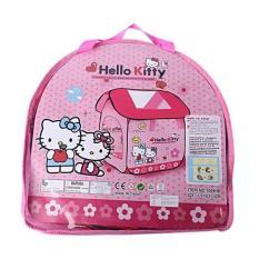 Review Paling Dicari Tenda Rumah Anak Karakter Hello Kitty Besar Terlaris