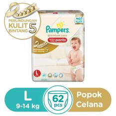 Promo Pampers Pants Premium Care L62 Indonesia