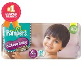 Toko Pampers Popok Active Baby Taped Xl 50 Online Indonesia