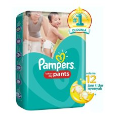 Beli Pampers Popok Baby Dry M 58 Kredit Indonesia