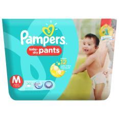 Spek Pampers Popok Baby Dry Pants M 30 Pampers