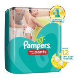 Harga Pampers Popok Baby Dry Pants M 30 Branded
