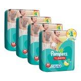Harga Termurah Pampers Popok Baby Dry Pants M 30 Karton Isi 4