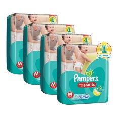 Harga Pampers Popok Baby Dry Pants M 30 Karton Isi 4 Termurah