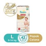 Jual Pampers Popok Celana L 42 Premium Care Import