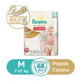 Jual Beli Pampers Popok Celana M 68 Premium Care