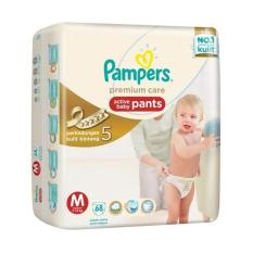 Pampers Popok Celana M-68 Premium Care