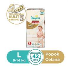 Obral Pampers Popok Celana Premiumcare Sz L 42 Murah