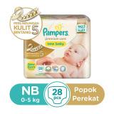 Review Pampers Popok Perekat Nb 28 Premium Care Terbaru