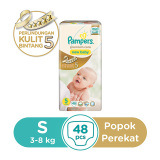 Review Pampers Popok Perekat S 48 Premium Care