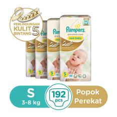 Review Pampers Popok Perekat S 4X48 Premium Care Pampers