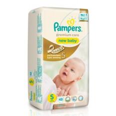 Berapa Harga Pampers Popok Premium Care New Baby Tape S 48 Di Indonesia