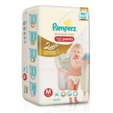 Harga Pampers Premium Care M 46 Asli Pampers