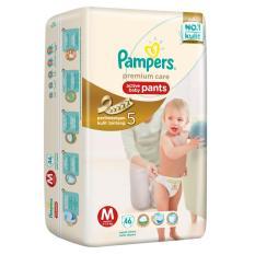 Toko Pampers Premium Care Pants M 46 Indonesia