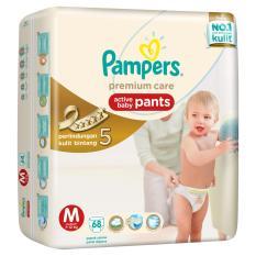 Jual Beli Pampers Premium Care Pants M 68 Di Indonesia
