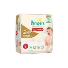 Harga Pampers Premium Care Pants Popok Celana L24 L 24 Seken