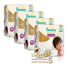 Toko Pampers Premium Care Pants Xl 36 Box Isi 4 Pampers Di Indonesia