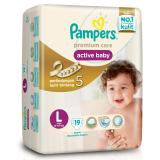Harga Pampers Premium Care Tapped L 19 Indonesia