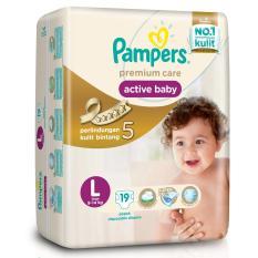 Harga Pampers Premium Care Tapped L 19 Pampers Baru