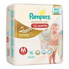 Diskon Produk Pampers Premium Pants Eco M 16