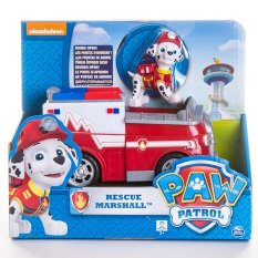 Cuci Gudang Paw Patrol Basic Vehicle With Pup Marshall