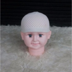 Peci Bayi Putih