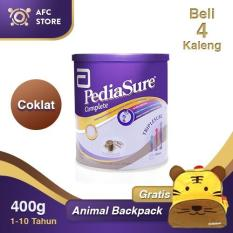 Jual Pediasure Complete Triplesure Coklat 400Gr 4 Kaleng Animal Backpack Grosir