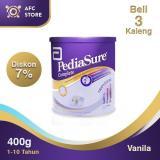 Toko Jual Pediasure Complete Triplesure Vanilla 400Gr 3 Kaleng