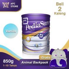 Jual Cepat Pediasure Complete Triplesure Vanilla 850 2 Kaleng Animal Backpack