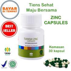 Penambah Nafsu makan anak Herbal Tiens / Vitamin Penggemuk Badan / Suplemen Penambah Nafsu Makan Anak / Multivitamin Penggemuk Badan Herbal / Paket Promo Zinc 30 Kapsul