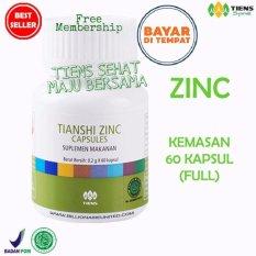 Penambah Nafsu Makan Anak Tianshi Zinc Capsules [60 kapsul] by TSMB