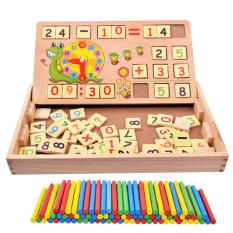 Rp 194.400. Anak-anak Montessori matematika Mainan Bayi TK aritmatika tongkat Batang digital penambahan dan pengurangan pendidikan usia dini ...