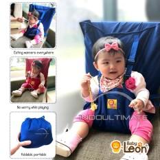 Harga Pengaman Duduk Bayi Universal Kursi Baby Leon Portable Baby Safety Chair Cover Sack N Seat Sc 12 Blue Baby Leon Baru